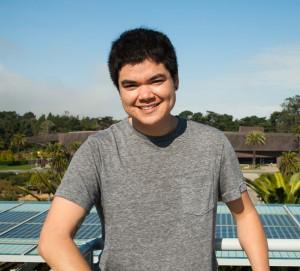 SFSU graduate student Shayle Matsuda. (Photo: Elliot Owen)