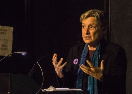 UC Berkeley Professor Judith Butler discussed gender at a recent conference at California College of the Arts. (Photo: Elliot Owen)